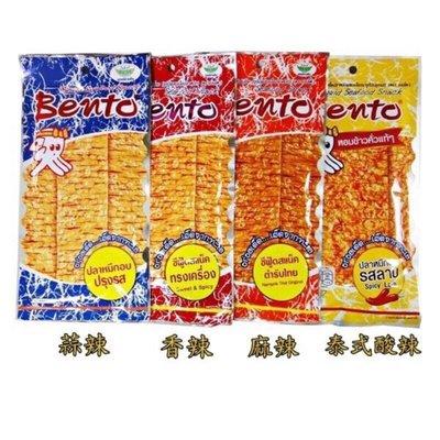 泰國 bento 超味魷魚 魷魚片 香魷片 20g