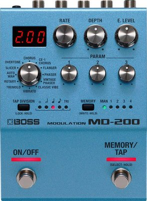 大鼻子樂器 BOSS MD-200 Modulation 調變效果器