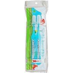【小糖雜貨舖】日本 新幹線牙刷 - 2入組 - 藍色