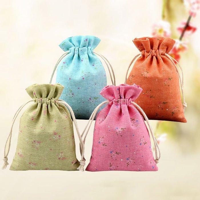 【螢螢傢飾】婦幼禮品袋,香包袋,幼兒雜物袋,棉麻布袋, 拉繩袋 束口袋 萬用收納袋,糖果袋 手工皂包袋