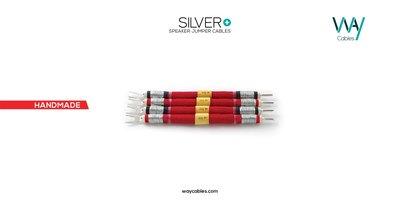 WAYCables SILVER 3 Ana+ 5N單晶銀 Speaker Jumpers歡迎來電洽詢