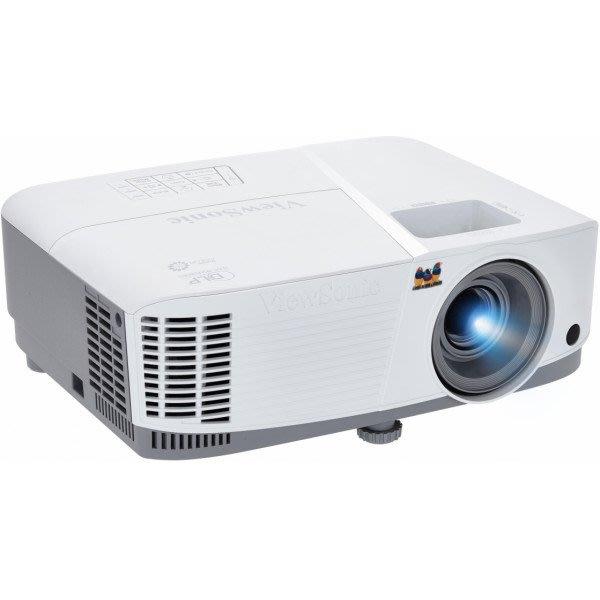 高傳真音響【ViewSonic PA503S】3600高流明 SVGA HDMI商用教育投影機│學校會議簡報
