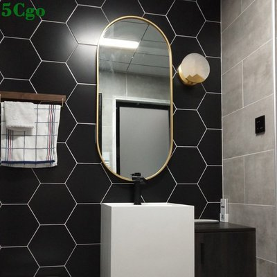 5Cgo【宅神】北歐浴室鏡衛浴鏡浴室洗...