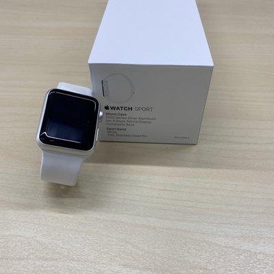 【二手特賣】Apple Watch Sport 38mm 運動版鋁錶殼智慧手錶