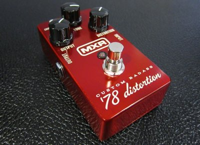 【澄風樂器】全新 MXR M78 Custom Badass 78 DISTORTION 吉他破音效果器