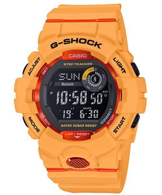 CASIO G-SHOCK G-SQUAD SERIES GBD-800-4 黃色 GSHOCK GBD800 GSQUAD