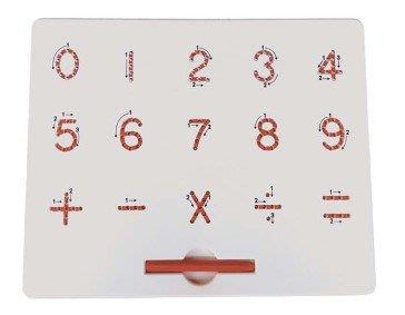 【磁性教育訓練繪板(0~9)】感官、教材、教具、語文、中文、家庭、幼稚園