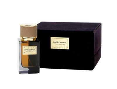 Dolce&Gabbana高級訂製線 Velvet Desert Oud 絲絨沙漠沉香 50mlEDP 暖辛香脂 特價