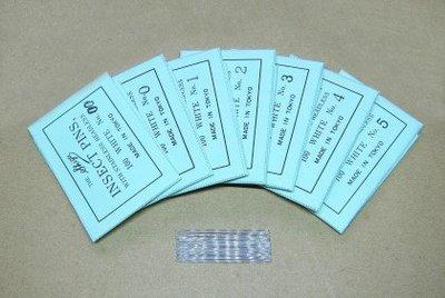 【虫話森林】日本志賀品牌,無頭昆蟲針(1~5號)
