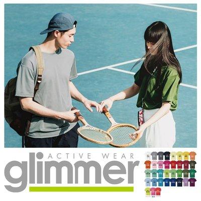 日本Glimmer 排汗速乾抗UV機能T恤 /  排汗T / 素t /素T /運動T恤