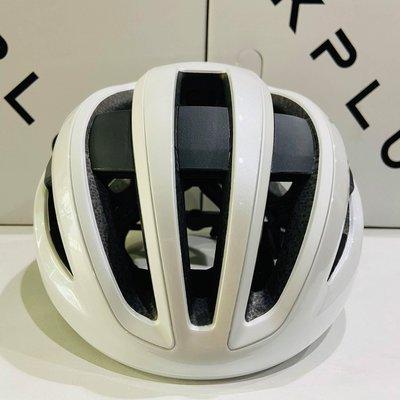 【皇小立】KPLUS NOVA 磁吸式安全帽 白 自行車安全帽 / KASK MONTON POC OGK GIRO