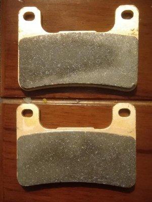 TOKICO 浮字版 輻射 對四 雙插銷 金屬燒結 剎車片 煞車皮 剎車皮 煞車片