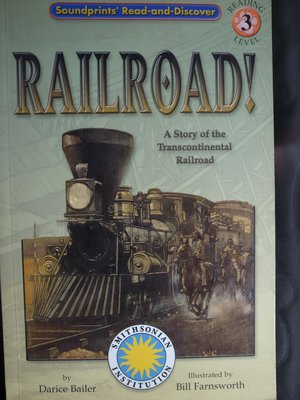 英文繪本 火車故事 Smithsonian ~英文童書/繪本童書/兒童英文/彩色原文書Railroad ! 火車迷