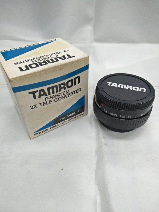 板橋富豪相機Tamron 2X FD手動鏡頭2倍加倍鏡CANON 專用
