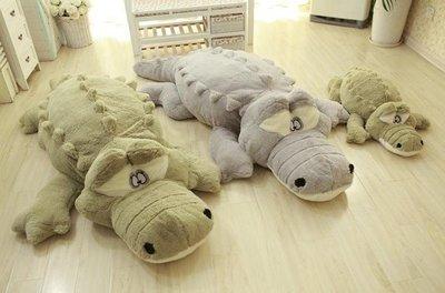 ☆汪汪鼠☆【160公分】毛絨絨鱷魚抱枕 男朋友娃娃 睡覺玩偶 絨毛娃娃 聖誕禮物交換禮物 告白 生日禮物
