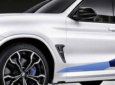 【樂駒】BMW X3M F97 M-Performance 碳纖維葉子板飾蓋 改裝 車側 空力 外觀 套件
