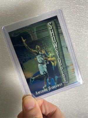 1997-98 Finest Embossed #274 ANFERNEE HARDAWAY S - ORLANDO MAGIC 一分錢哈德威老卡。