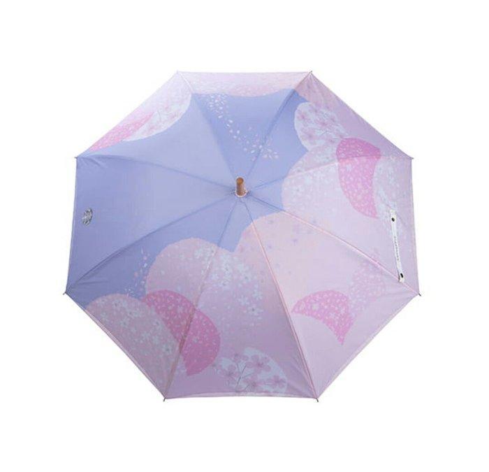 天使熊雜貨小舖~STARBUCKS 星巴克 粉櫻山谷雨傘 全新現貨