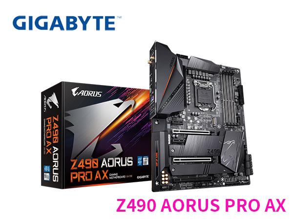 「Sorry」免運 技嘉 Z490 AORUS PRO AX 主機板 ATX 1200腳位 僅適用第十代CPU