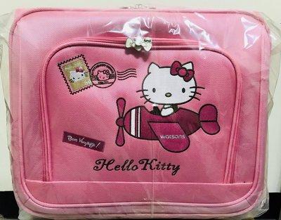 屈臣氏~Hello Kitty 袋我去旅行 輕便登機箱/拉桿行李箱