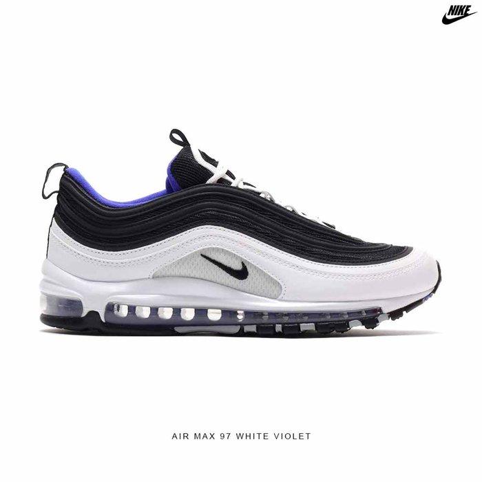 【QUEST】NIKE AIR MAX 97 OG 白黑藍 黑紫 氣墊鞋 慢跑鞋 休閒 男鞋 921826 103