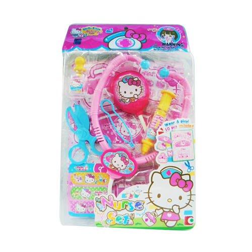 【W先生】Hello Kitty 凱蒂貓 護士組 醫生 女孩 家家酒 玩具