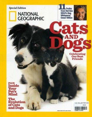 紅蘿蔔工作坊/國家地理雜誌~ Cats AND Dogs / 貓和狗(外文書)