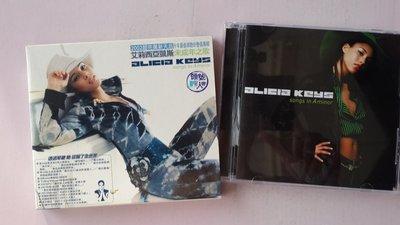 【鳳姐嚴選二手唱片】 Alicia Keys 艾莉西亞凱斯 / 未成年之歌 Songs in A minor (微紋)