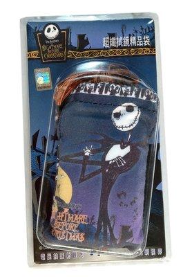 【卡漫迷】 傑克 束口袋 雙拉繩 ㊣版 聖誕驚魂夜 雜物包 Jack  手機袋  收納包 耳機線 黑傑克 骷顱頭