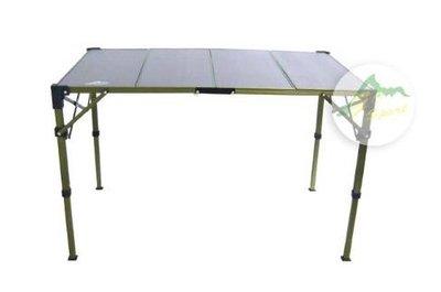 【樂活登山露營】免運!Go Sport 四片複合板折疊桌 96023 附收納袋 玻碳纖 露營桌 露營 新北市