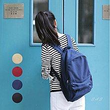 韓簡約後背包 無印風帆布後背包 學院風背包 簡約後背包 學生肩背包 無印感背包 帆布肩背包  大容量後背包 390
