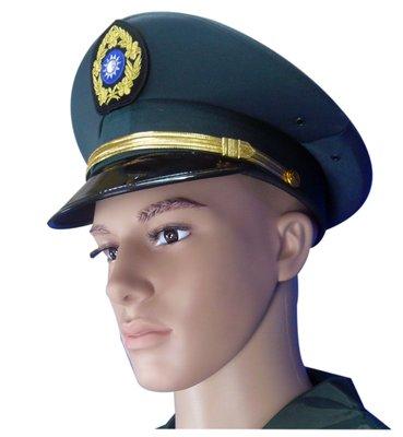陸軍大盤帽 軍官專用 第一製帽廠出品 國軍 陸軍 W軍品小舖