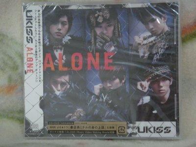 U-KISS cd=Alone cd+dvd 初回生產限定盤 (2013年發行,全新未拆封)