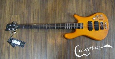 『立恩樂器』Warwick Rock Bass Streamer standard 蜂蜜 消光 4弦 電貝斯 BASS