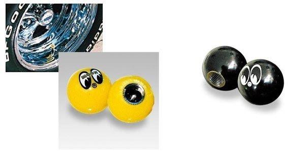 (I LOVE樂多)MOONEYES經典氣嘴蓋機車檔車汽車自行車mooneyes等都可通用喔另有立體RF可以挑選喔