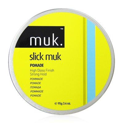 【商品全新】澳洲 muk 髮蠟 slick muk C羅黃 95g 高光澤油頭適用