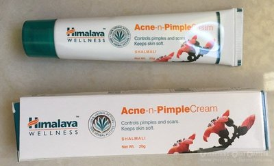 印度 Himalaya喜馬拉雅 淨荳膏 Acne-n-Pimple Cream 20g 【外加Lip Balm x50】