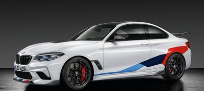 【樂駒】BMW 原廠 F87 M2 Competition M Performance 車身貼紙 三色M 外觀 套件