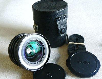 【悠悠山河】近新品--Rollei 28mm F2.8 MC QBM~可轉Canon, A7, NEX, M4/ 3, FUJI 高雄市