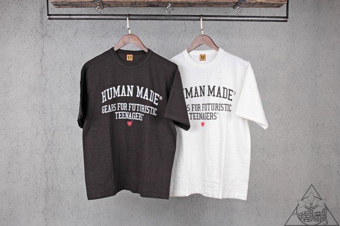 【HYDRA】Human Made Brand Letterings Tee 愛心 短T 天竺棉【HM17TE007】