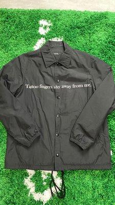 全新正品 UNDERCOVER MAD STORE coach jacket 教練外套 外套 防風 風衣 SIZE:2 日本製