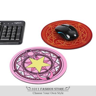庫洛魔法使 木之本櫻 百變小櫻 魔法陣 光學滑鼠墊 滑鼠墊 防滑墊 止滑墊 兩款一組