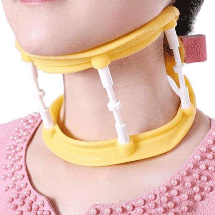 頸托護頸帶家用成人兒童保護頸椎脖子疼痛牽支撐引固定器護勁椎套 【優の館】