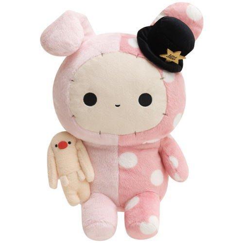 41+現貨不必等 大尺寸 憂傷馬戲團 波波兔 絨毛玩偶 娃娃 絨毛 公仔 4165本通 可日本代購