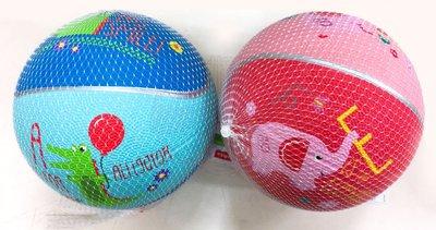花媽 Fisher-Price 費雪 卡通玩具球17cm(藍/粉)60002