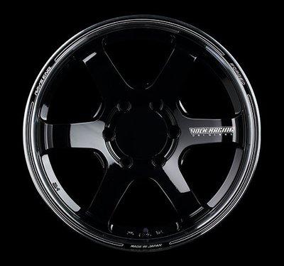 日本 Volk Racing Rays 鍛造 鋁圈 TE37SB Tourer 深黑 銀邊 17吋 18吋 139 六孔