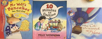 珮珮百寶屋💎 10 minutes till Bedtime+Mr Wolf's Pancakes+The Cat ⋯