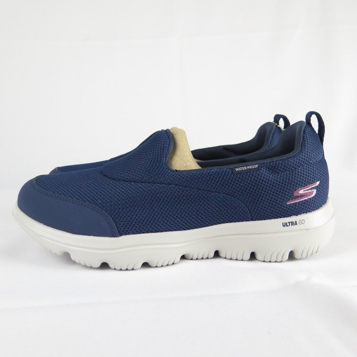 【iSport愛運動】Skechers GO WALK EVOLUTION ULTRA健走鞋 15767NVGY藍 女款