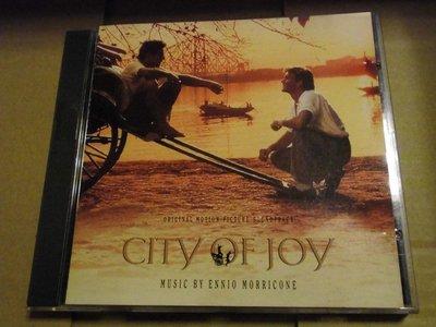 Ennio Morricone 顏尼歐莫利克奈City of Joy 歡喜城電影原聲帶 無IFPI