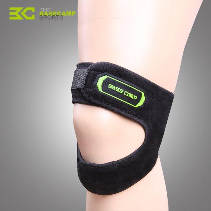 【購物百分百】貝斯卡 髕骨帶 髕骨束帶 運動護膝 硅膠加壓 固定護膝 薄款 戶外騎行 健身跑步 BC-586-祺